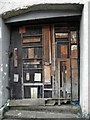 G9169 : Boarded-up door, Ballintra by Kenneth  Allen