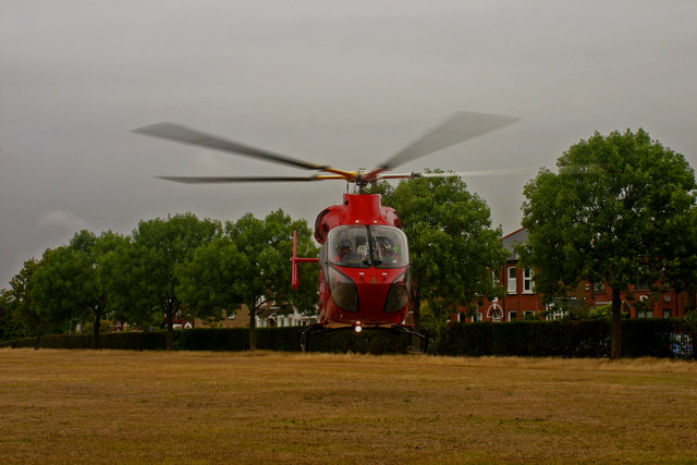 H E M S - London's Air Ambulance Helicopter