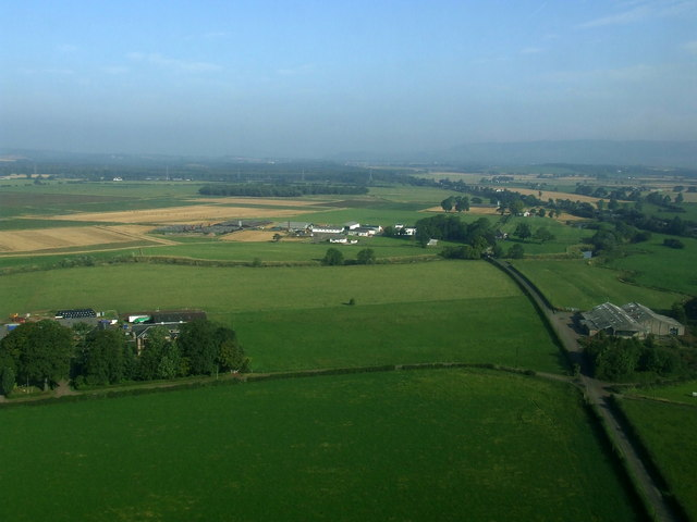 Candrens and Boghead from the air