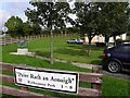 G9474 : Bi-lingual sign, Rathaneeny Park by Kenneth  Allen