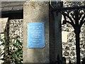 Photo of John Arlott blue plaque