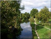 SU7451 : Basingstoke Canal by Margaret Sutton