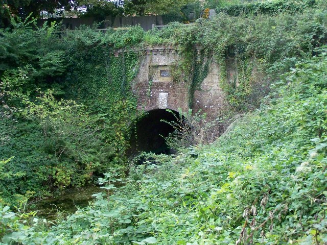 Greywell Tunnel on the Basingstoke Canal