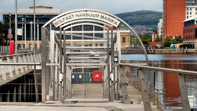 Marina gate, Belfast