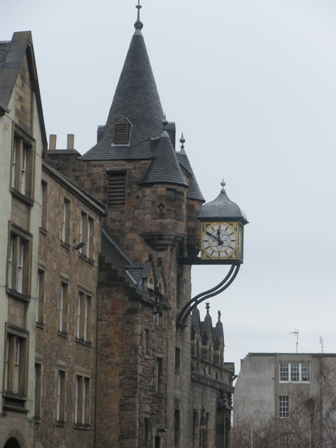 Old Tollbooth, Canongate, Edinburgh