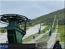 NT2466 : Hillend ski slope by kim traynor