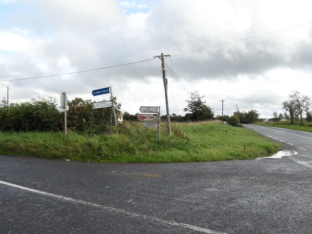 Signposts on the R153 in Mooretown, Co. Meath