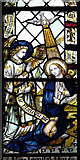 TG2608 : St Andrew's church in Thorpe St Andrew - Victorian glass by Evelyn Simak