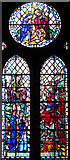 TG2608 : St Andrew's church in Thorpe St Andrew - stained glass by Evelyn Simak