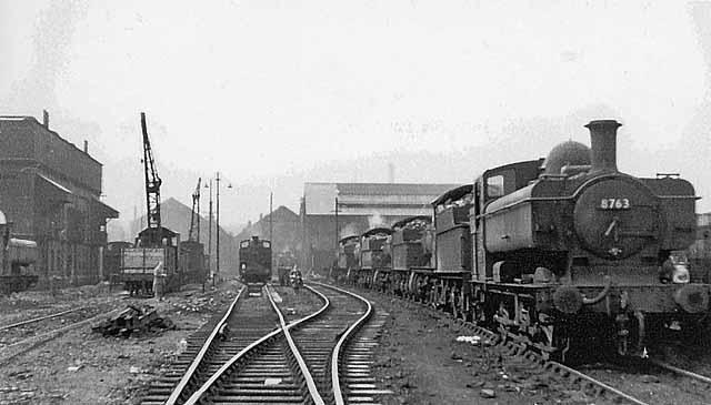 7 Passenger Vehicles >> Old Oak Common Locomotive Depot © Ben Brooksbank cc-by-sa ...