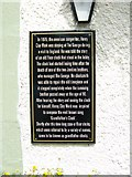 NZ2115 : The plaque at the George Hotel by Elliott Simpson