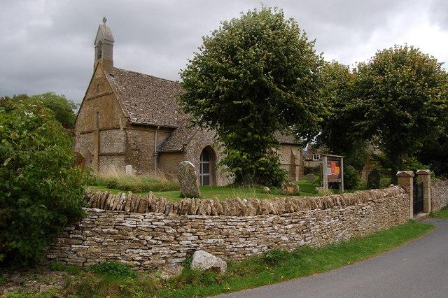 St Nicholas 's church in Condicote, Gloucestershire