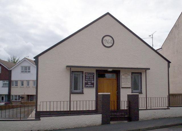 Bible Pattern Church, Fitzroy Street