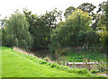 SP9804 : Moat at Grove Farm by Tom Presland