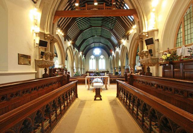 christ church  wanstead place  london     u00a9 john salmon cc