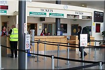 O2034 : The Irish Ferries and Isle of Man Steam Packed Company's Ticket Offices at Terminal 1 by Eric Jones