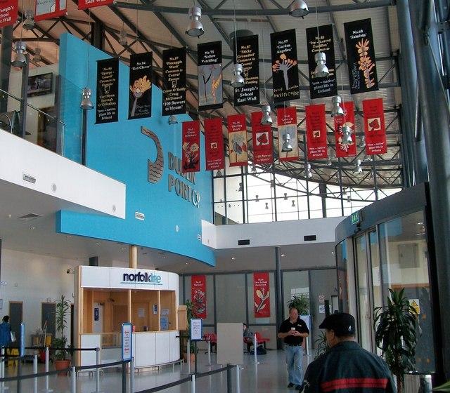 Norfolkline Foot Passenger Ticket Office at Terminal 1