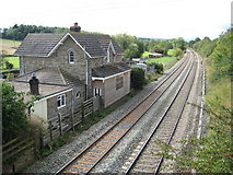 SO4430 : Former station, Kilpeck by Philip Halling