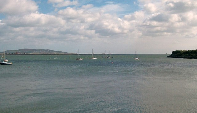Yacht moorings in Dublin Port