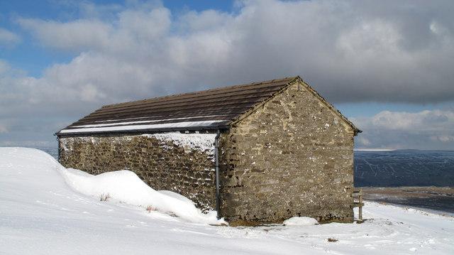 Shooting hut on Ireshope Moor