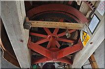 TF7632 : Great Bircham Windmill - Great Spur Wheel by Ashley Dace