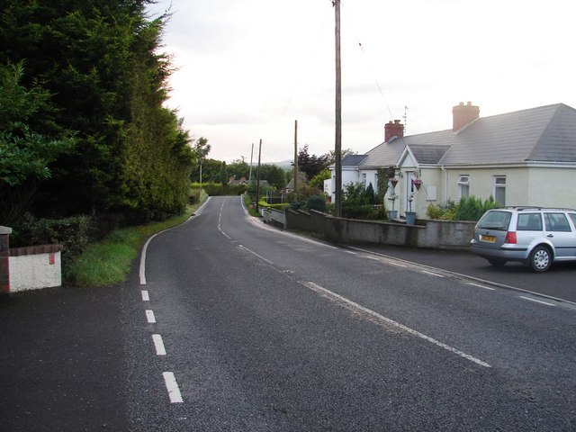 Down Old Ballynahinch Road
