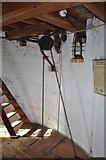 TF7632 : Great Bircham Windmill - The Sack Hoist  (Top) by Ashley Dace