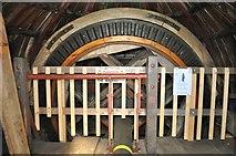 TF7632 : Great Bircham Windmill - Brake Wheel by Ashley Dace