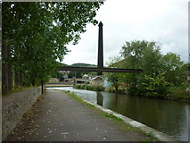 SE1039 : Walking along the Leeds to Liverpool Canal #189 by Ian S