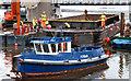 J3474 : Dredging the River Lagan, Belfast -  2010/11 (7) by Albert Bridge