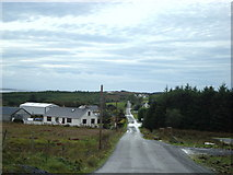 G7780 : Road through Meenabrock by louise price