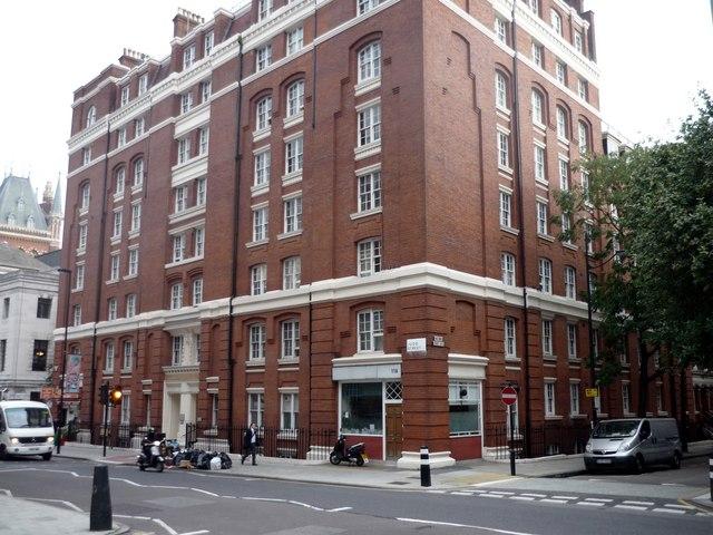 Queen Alexandra Mansions, Judd Street, London