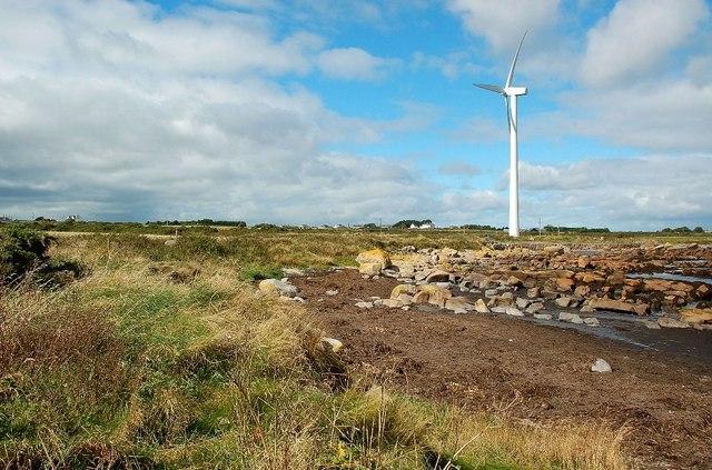 Wind Turbine at Nethertown Bay