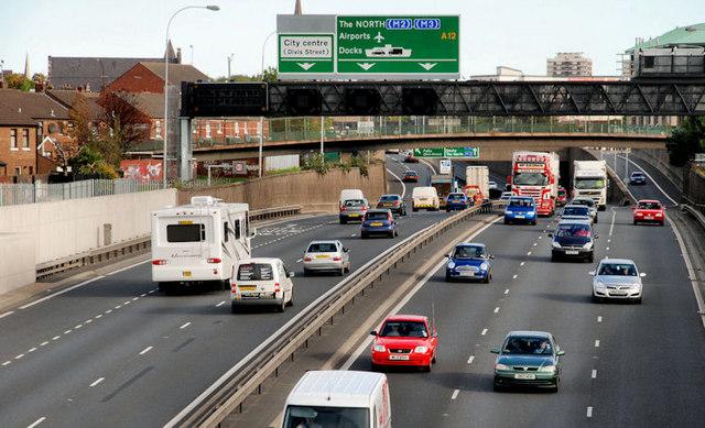 The Westlink, Grosvenor Road, Belfast