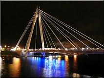 SD3317 : Marine Lake & Marine Way Bridge by David Dixon