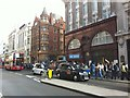 TQ2981 : Oxford Circus tube station entrance buildings by Oxyman