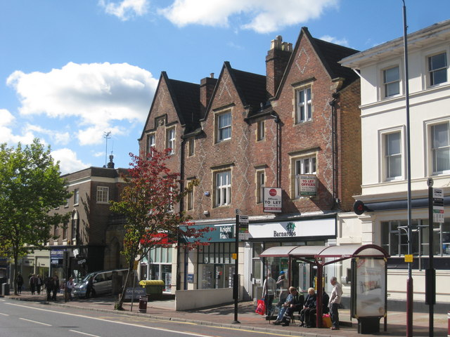 Shops at 83-87 Mount Pleasant Road by Oast House Archive