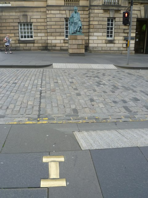 Site of the Lawnmarket gallows