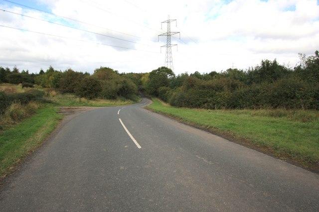 Minor road near Brewsdale