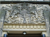 NT2674 : Royal Arms over the entrance to St. Andrew's House by kim traynor
