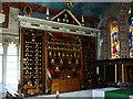 SU1084 : Triptych, St Mary's Church, Lydiard Tregoze, Swindon by Brian Robert Marshall