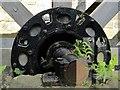 NZ2567 : Water wheel, The Old Mill, Jesmond Dene by Andrew Curtis