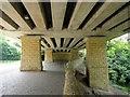 NZ2666 : Below the road bridge, Cradlewell bypass, Jesmond by Andrew Curtis