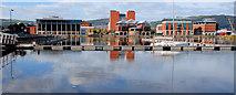J3475 : Belfast Harbour Marina by Albert Bridge