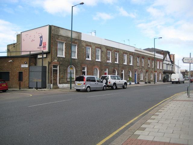 Kensal Green: St Mary's Terrace, Harrow Road