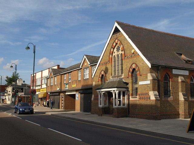 Buildings on High Street, Yiewsley