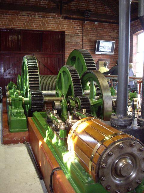 Balloch Steam Slipway engine and gearing