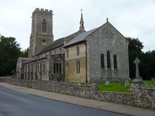 The church of St Mary and St Andrew