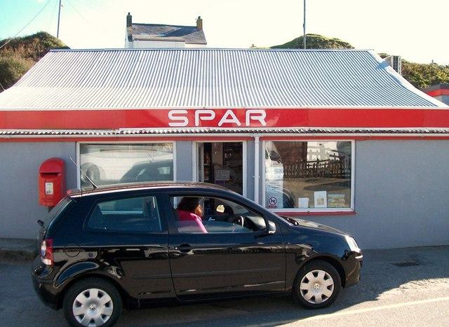 Siop Spar shop, Aberdaron