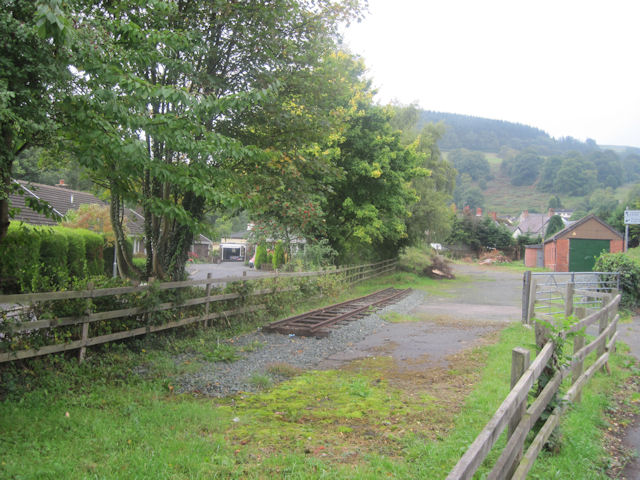 Site of part of The Glyn Valley tramway